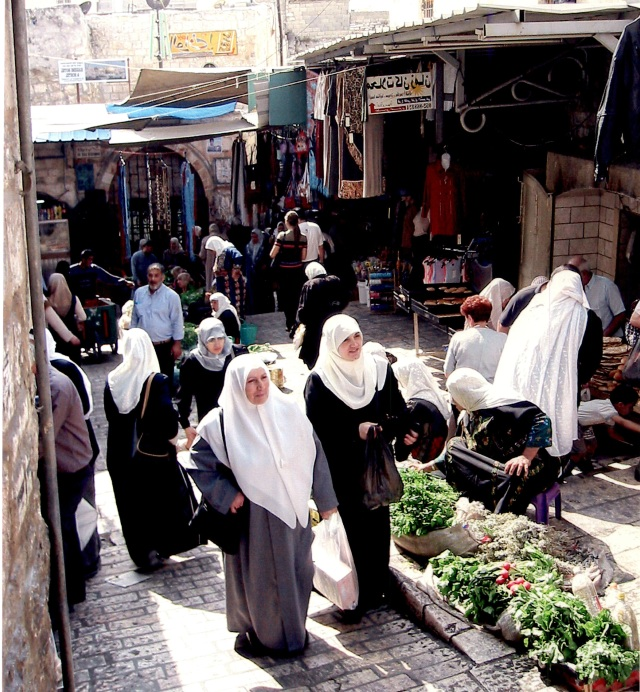 Shopping in the Jerusalem Market