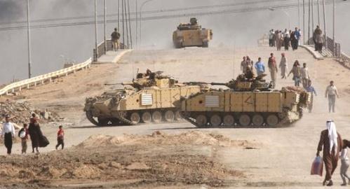 Civilians Flee Basra