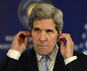 Kerry in Istanbul photo by AP