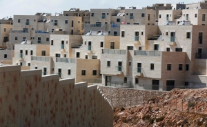 Houses are seen in the West Bank Jewish settlement of Har Gilo, near Jerusalem