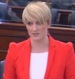Irish Senator Averil Power You Tube