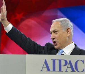 Israeli Prime Minister Benjamin Netanyahu addresses AIPAC in Washington