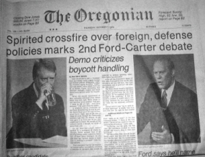 newspaper-2nd-carter-ford-debate-10-7-76
