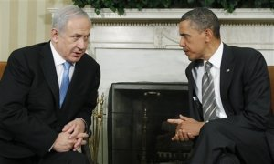 Image: The picture above from 2011 of current Israeli Prime Minister Benjamin The picture here of Netanyahu, and former American President Barack Obama, is from Reuters.